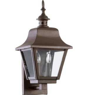 Bishop Oiled Bronze Traditional Outdoor Wall Light