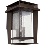 Easton Oiled Bronze Transitional Outdoor Wall Light