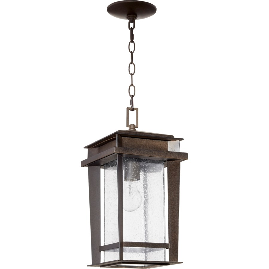 Easton Oiled Bronze Transitional Outdoor Pendant