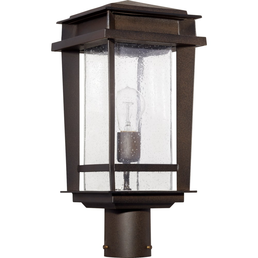Easton Oiled Bronze Transitional Outdoor Post Light