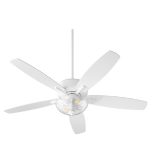 Breeze 52-in 5 Blade Studio White Transitional Ceiling Fan