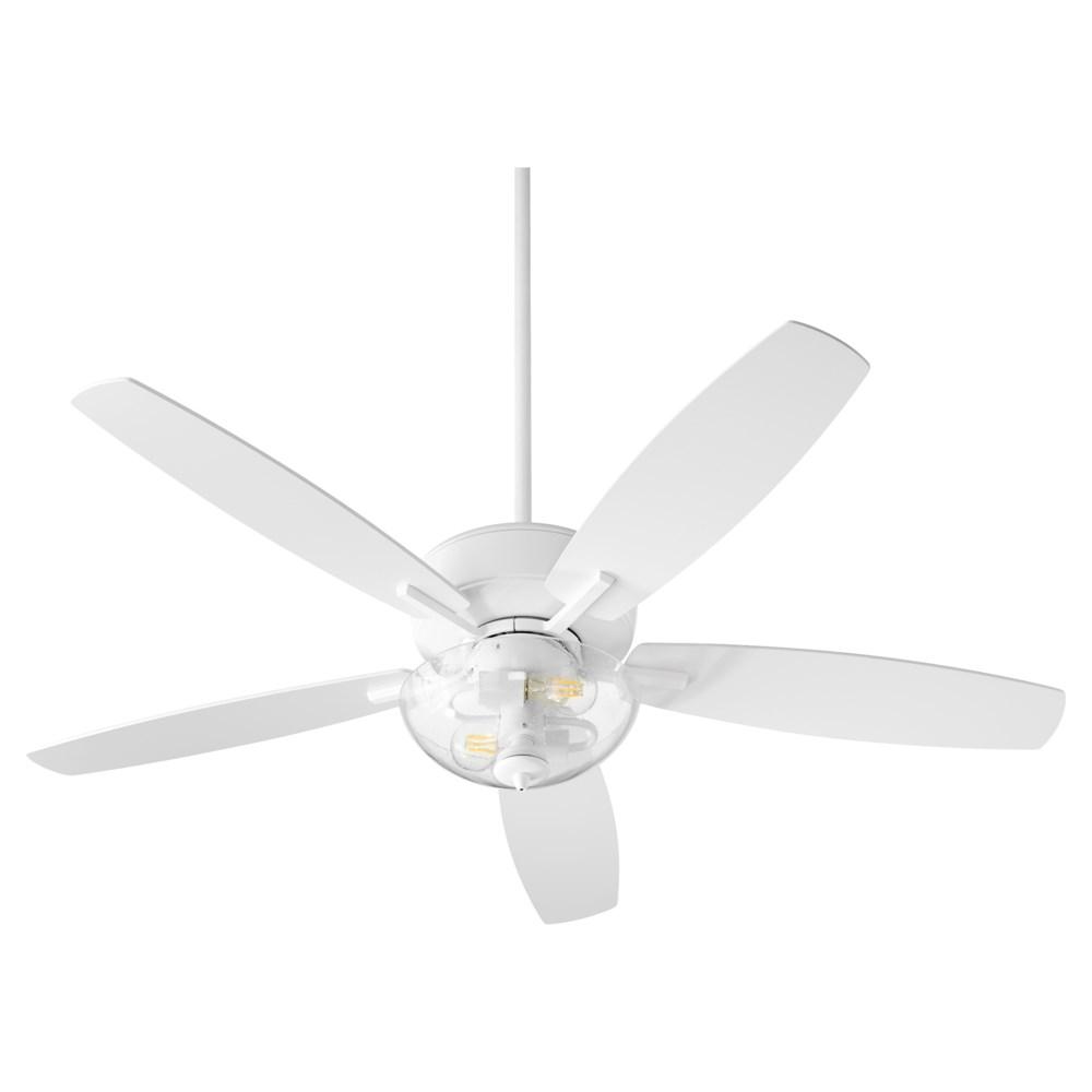 Breeze 52-in 5 Blade Studio White Transitional Ceiling Fan