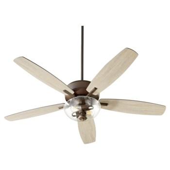Breeze 52-in 5 Blade Oiled Bronze Transitional Ceiling Fan