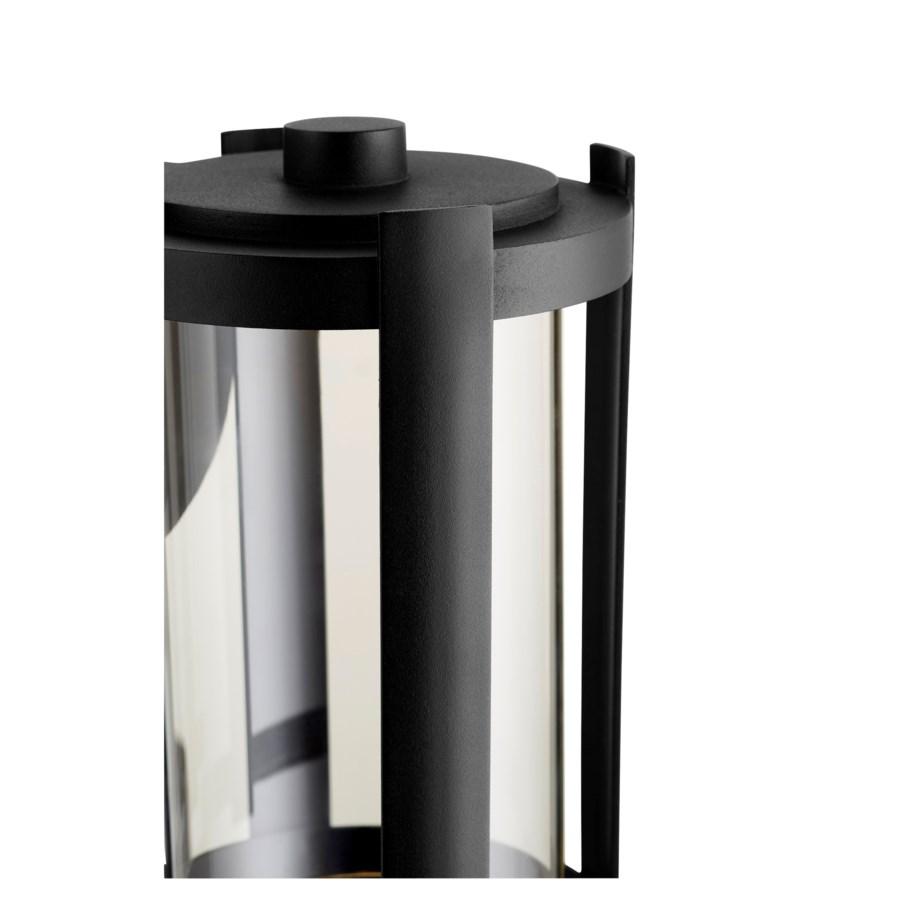 "Solu 11"" Noir Outdoor Lantern"