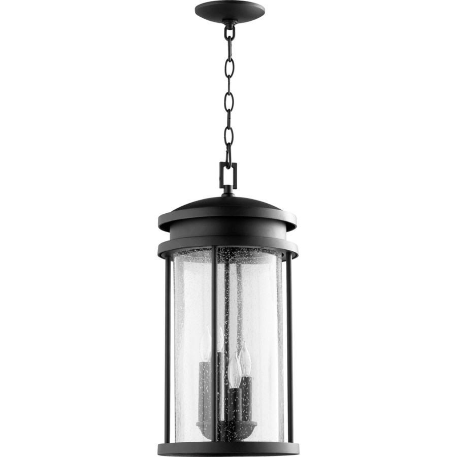 Hadley Black Transitional Outdoor Pendant