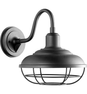 Tansley Black Transitional Outdoor Wall Light