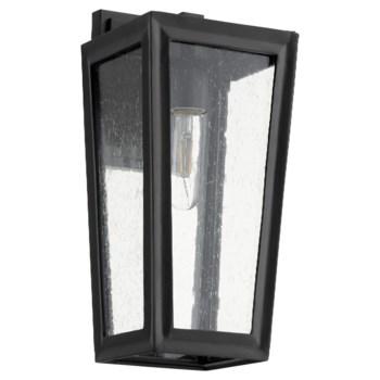 Bravo Black Transitional Outdoor Wall Light