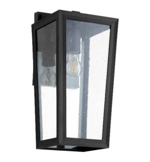 """Bravo 8"""" Noir Outdoor Lantern"""