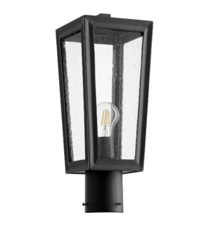 Bravo BlackTransitional Outdoor Post Light