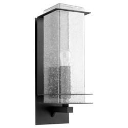 Balboa Black Modern and Contemporary Outdoor Wall Light