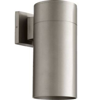 Cylinder 1 Light Modern and Contemporary Graphite Outdoor Wall Light
