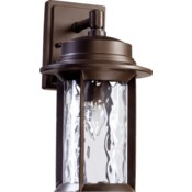 Charter Oiled Bronze Traditional Outdoor Wall Light