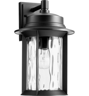 Charter Black Traditional Outdoor Wall Light
