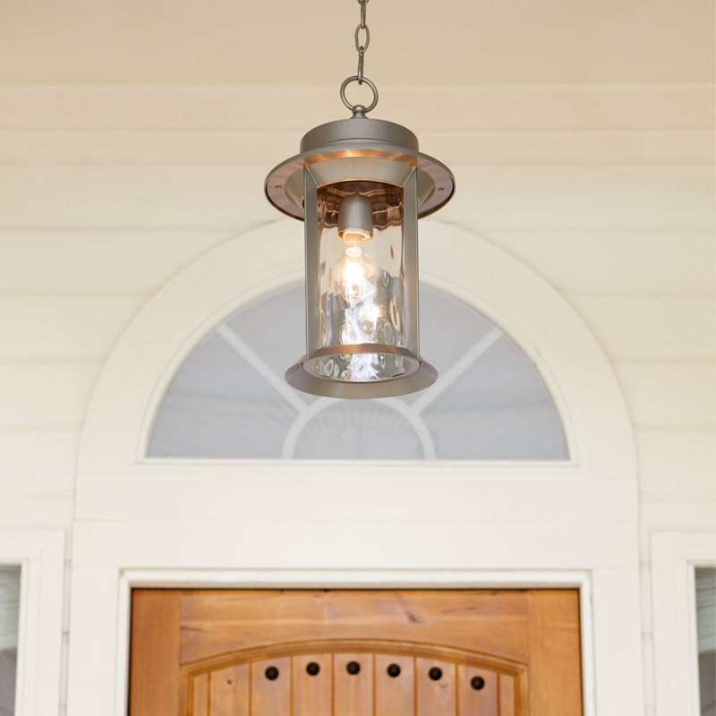 Charter Graphite Traditional Outdoor Pendant