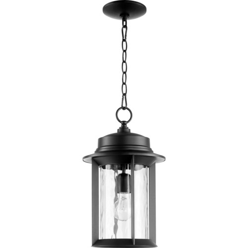 Charter Black Transitional Outdoor Pendant