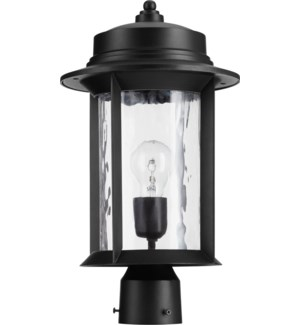 Charter Noir Transitional Outdoor Post Light