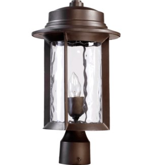 Charter Oiled Bronze Transitional Outdoor Post Light