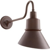 Torrey Oiled Bronze Modern Farmhouse Outdoor Wall Light