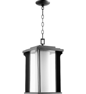 Garrett Black Transitional Outdoor Pendant