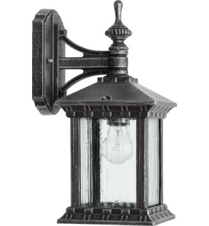Huxley Rustic Silver  Traditional Outdoor Wall Light