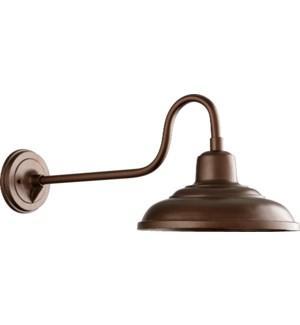 Oiled Bronze Hood Lantern