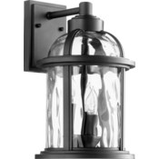 Winston Black Outdoor Wall Light