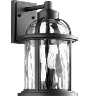 Winston Black Outdoor Wall Light