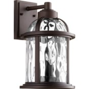 Winston Oiled Bronze Outdoor Wall Light