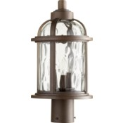 Winston Oiled Bronze Outdoor Post Light