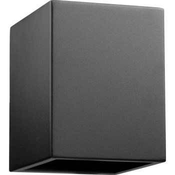 Ion Black Transitional Outdoor Wall Light