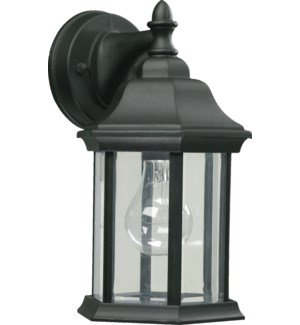 One-Light Traditional Black - Cast Aluminum Wall Lantern