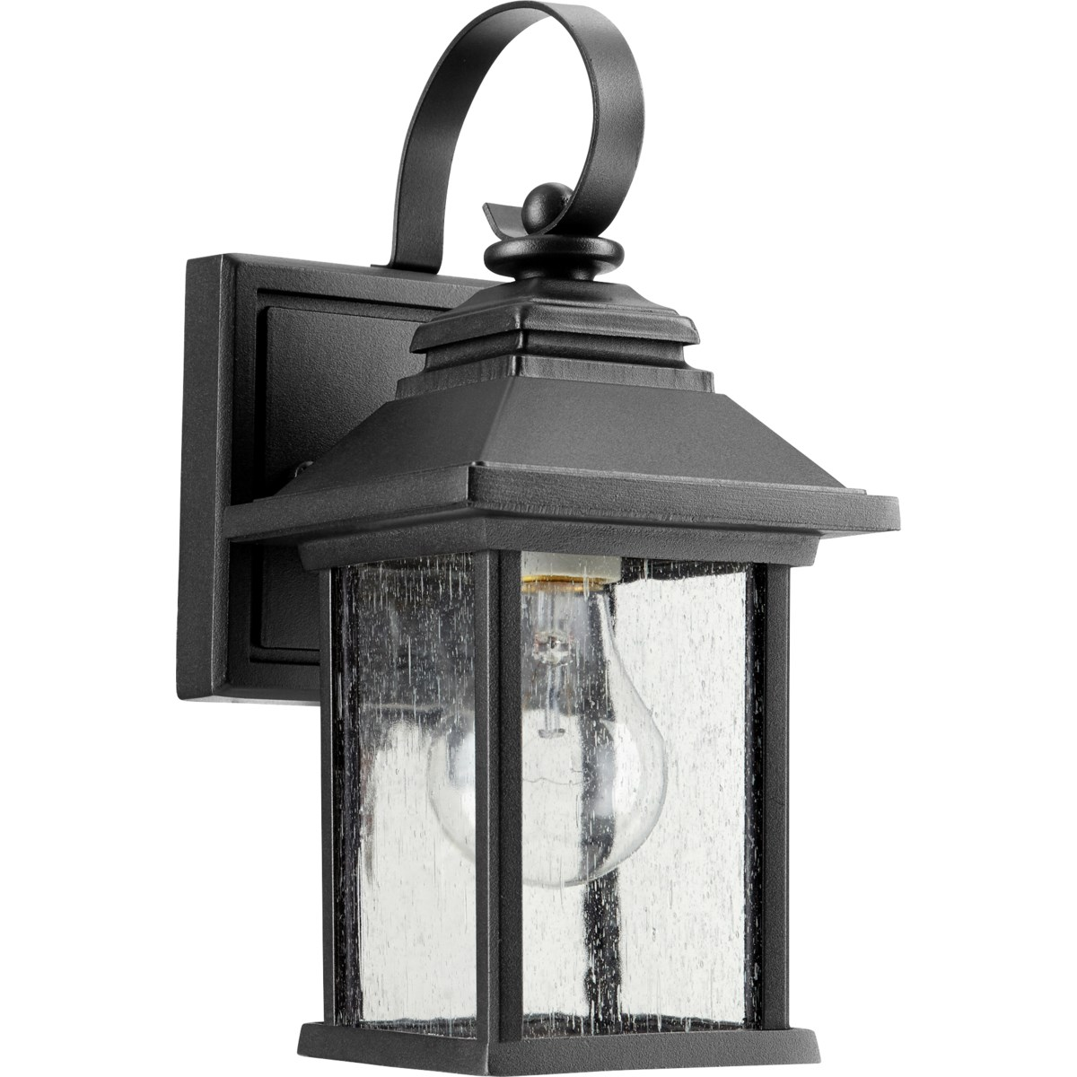 Pearson Black Transitional Outdoor Wall Light