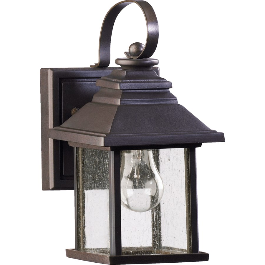 Pearson Oiled Bronze Transitional Outdoor Wall Light