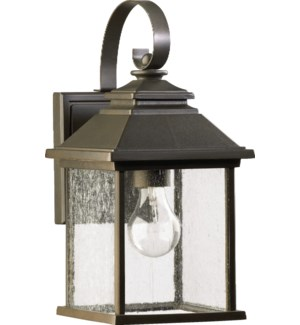 Pearson Oiled Bronze Traditional Outdoor Wall Light