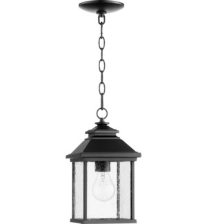 Pearson Black Traditional Outdoor Pendant