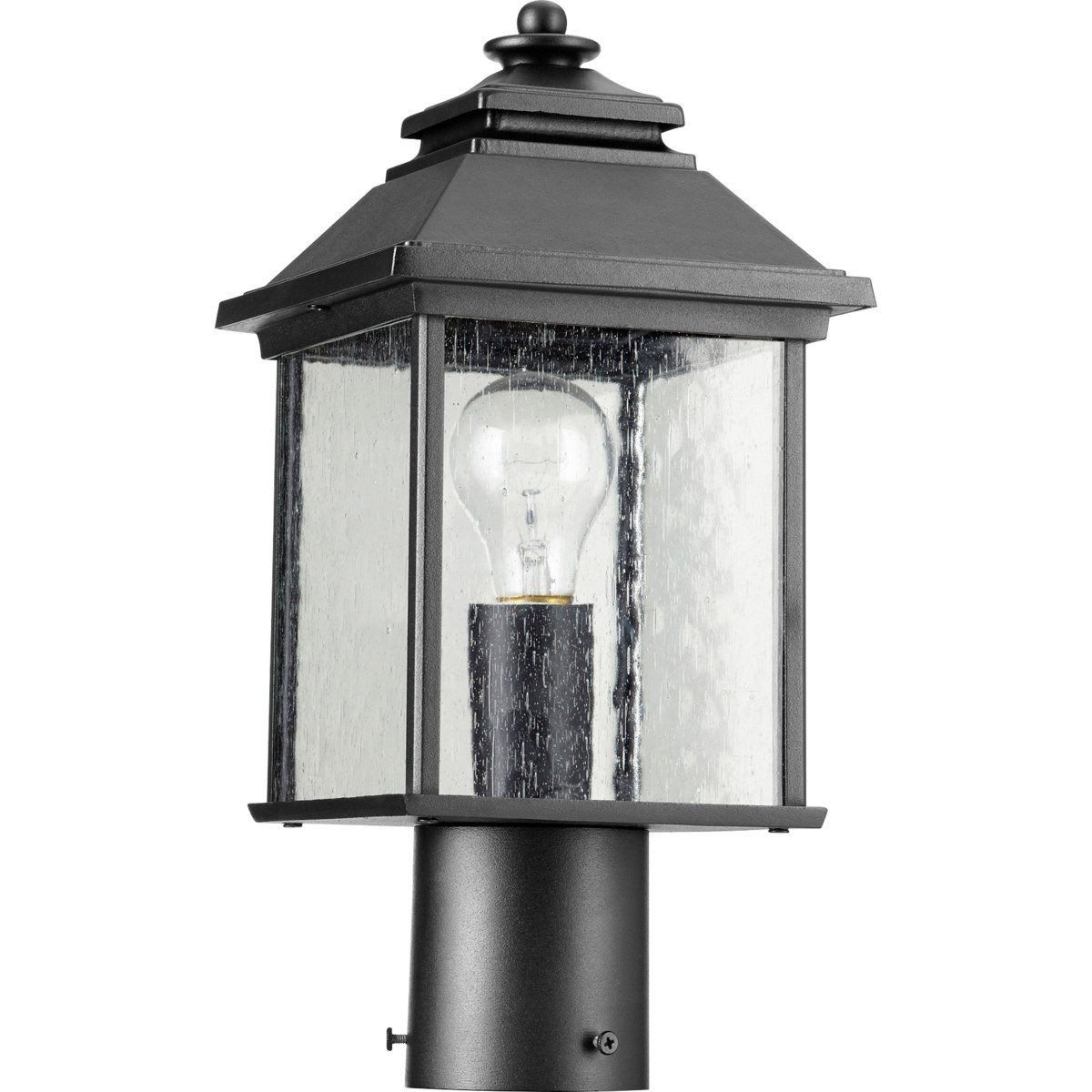 Pearson Black Traditional Outdoor Post Light