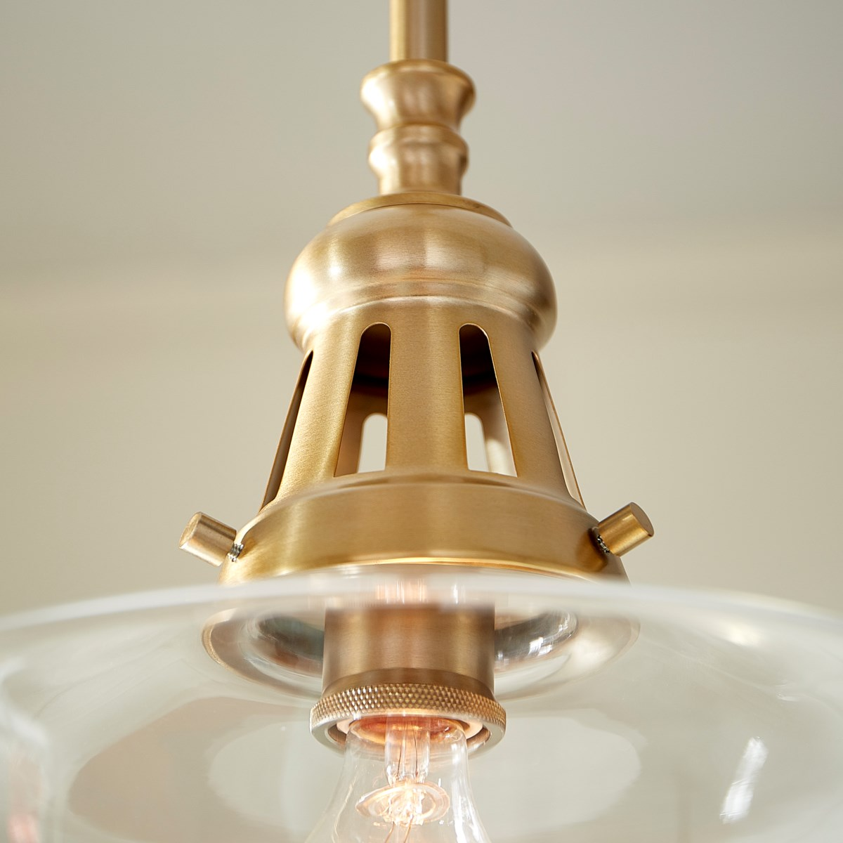 """"""" Aged Brass  Transitional"""