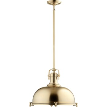 Aged Brass Transitional  Pendant