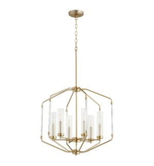 Citadel Aged Brass Modern and Contemporary Pendant