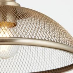 Omni Aged Brass Industrial Pendant