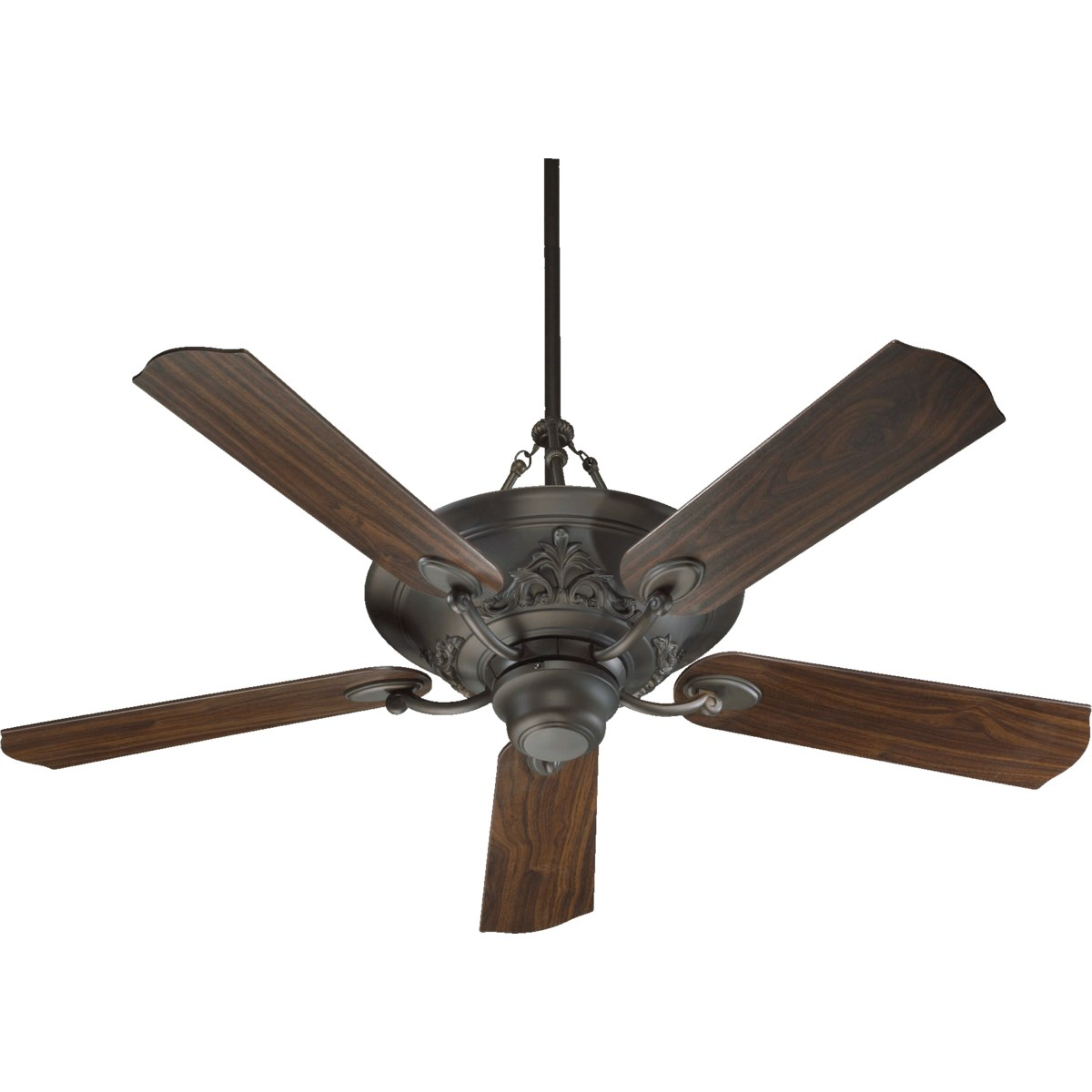 Salon 56-in 5 Blade Oiled Bronze Traditional Ceiling Fan