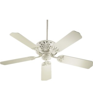 Windsor 52-in 5 Blade Antique White Traditional Ceiling Fan