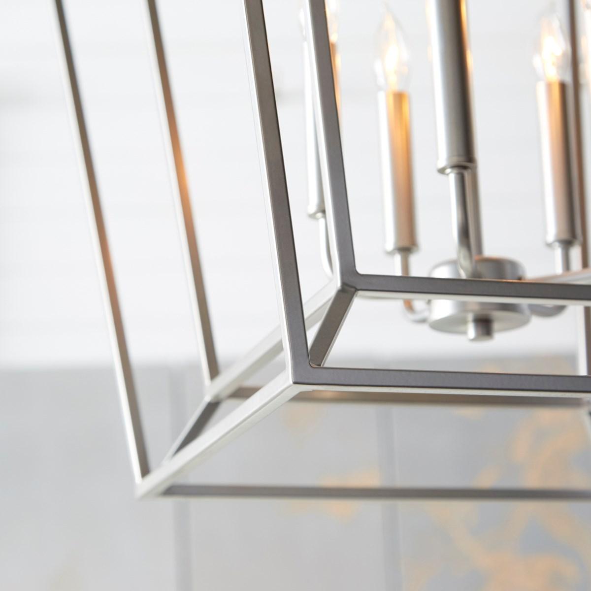 Monument 5 Light Classic Nickel Pendant
