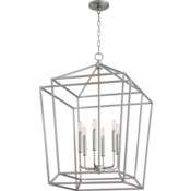 Monument 6 Light Classic Nickel Pendant