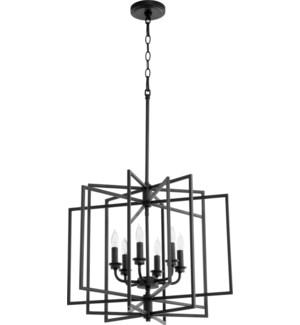 Hammond Black Transitional Cage Pendant