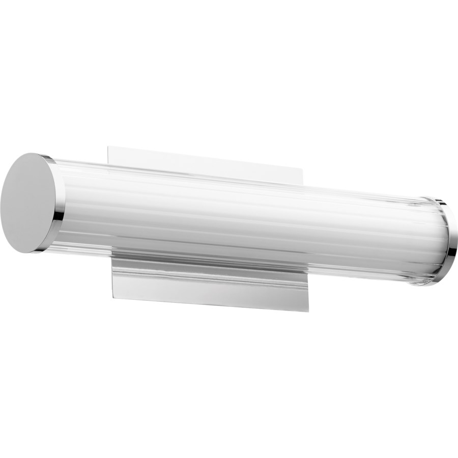 LED 1 Light Array Modern and Contemporary Polished Nicke  Vanity