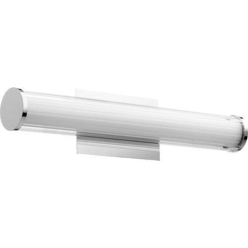 LED 2 Light Array Modern and Contemporary Polished Nickel Vanity