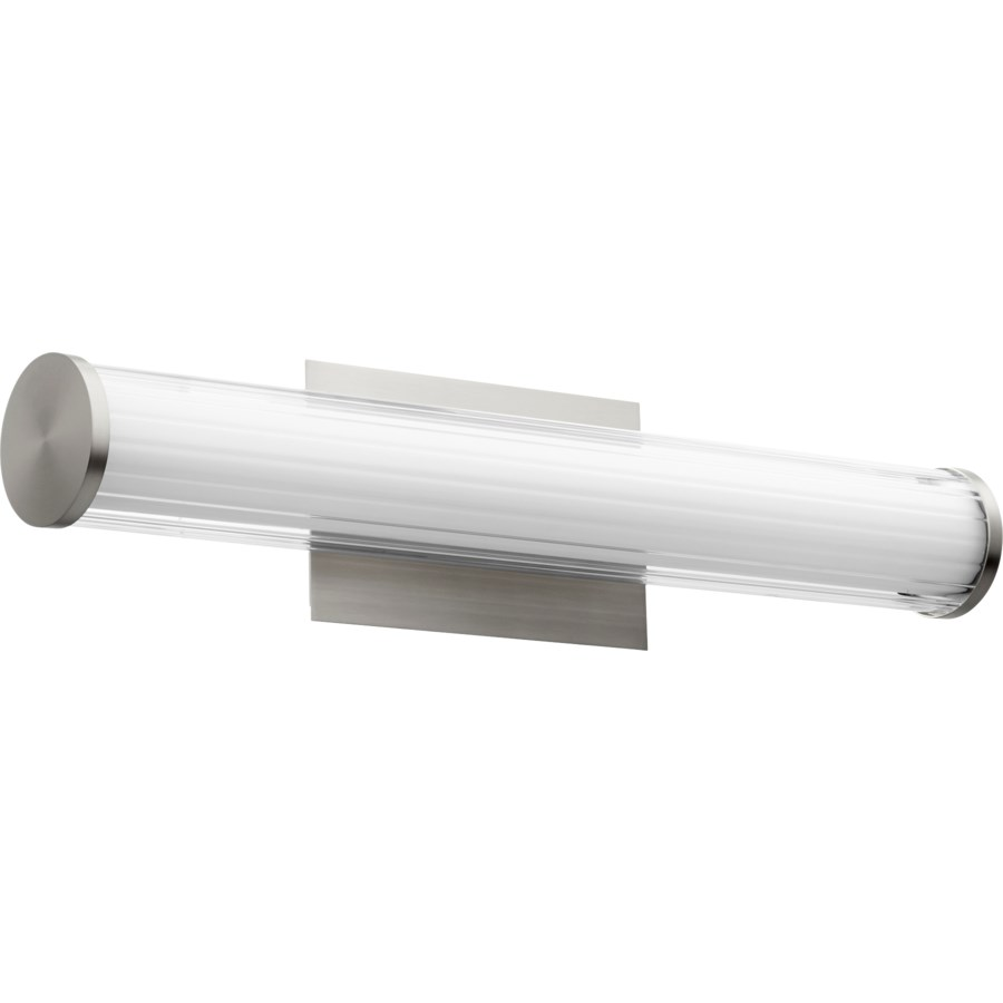 LED 2 Light Arrray Modern and Contemporary Satin Nickel Vanity