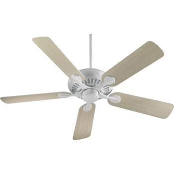 Pinnacle 52-in 5 Blade White Transitional Ceiling Fan