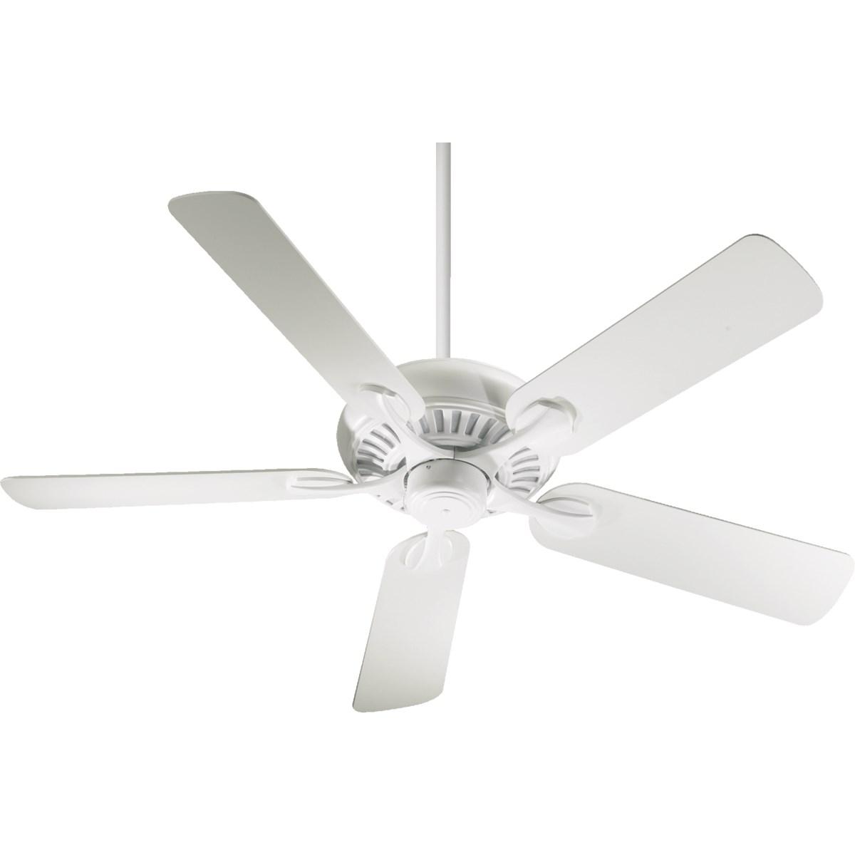 Pinnacle 52-in 5 Blade Studio White Transitional Ceiling Fan